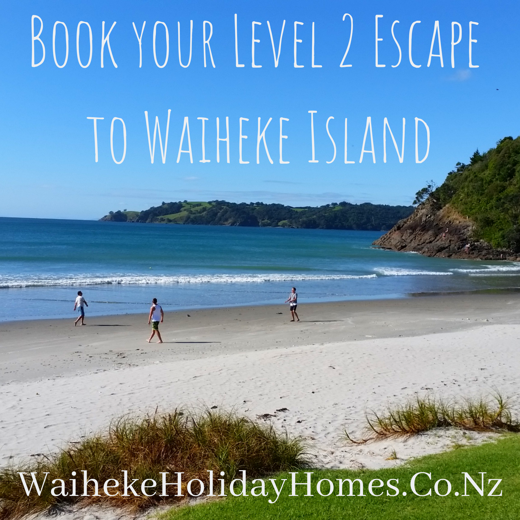 Book your Level 2 Escape to Waiheke Island now